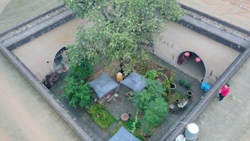 中国最神秘村庄,进村见不到房子,全都在地下住