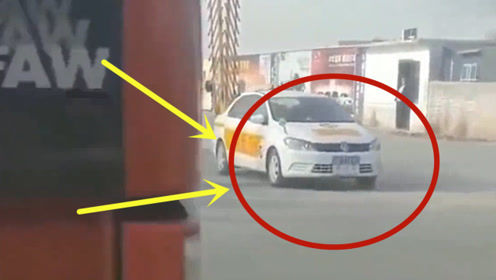 考试刚刚起步,科目三的第一辆车就这样挂了,女司机哭晕!
