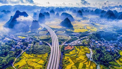外国人震惊,中国人骄傲!广西这条公路被英国媒体评为仙境高速