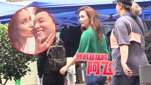 网曝将与韩庚举办婚礼?却只见卢靖姗在片场繁忙拍摄