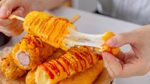 拉丝警告!火遍日韩的街头小吃,在家就能做!