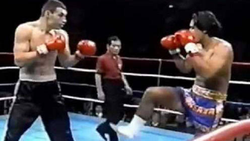 统治世界拳坛多年的霸主,竟然在自由搏击赛场也这么猛!