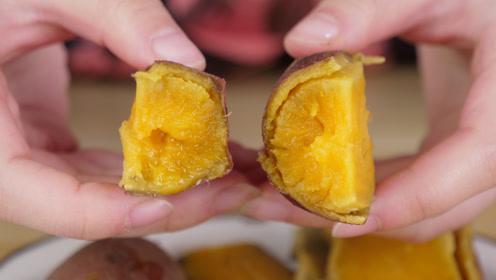 蒸红薯冷水还是热水上锅,教你4个小窍门,红薯软糯香甜香气逼人