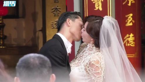 """大婚现场:林志玲与黑泽良平互道""""我爱你""""深吻两次情意绵绵"""