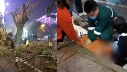 痛心!9级狂风猛吹20公斤夹板坠下,女大学生被砸身亡