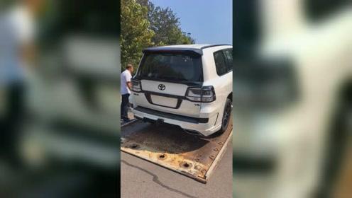 丰田最霸气的SUV,改装之后路虎揽胜也无言以对!