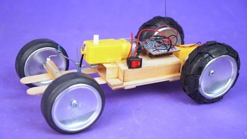 玩具车的制作,太有才了!