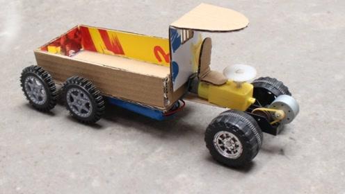 玩具车制作,是不是还可以啊!