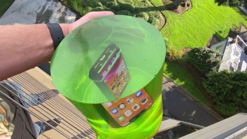 果冻能保护手机吗?老外亲自实验,一定要看到最后!