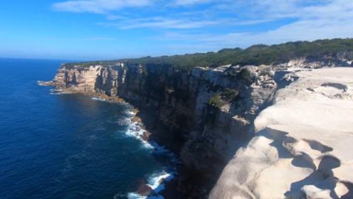 """澳大利亚""""蛋糕悬崖""""有多危险?游客为了拍照,不惜以生命为代价!"""