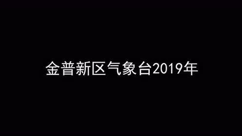 11月21日辽宁省金州区气象台发布大风蓝色预警