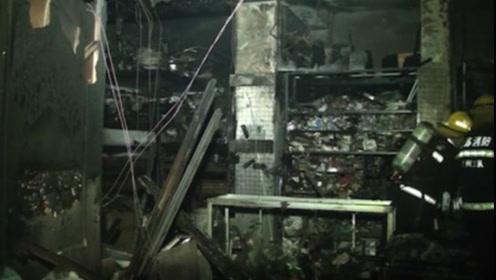 一小区疑似电动车充电起火,四台电动车全部被烧毁