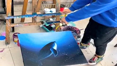 少年艺术家,作品令人惊叹,这和父母的教育是分不开的!