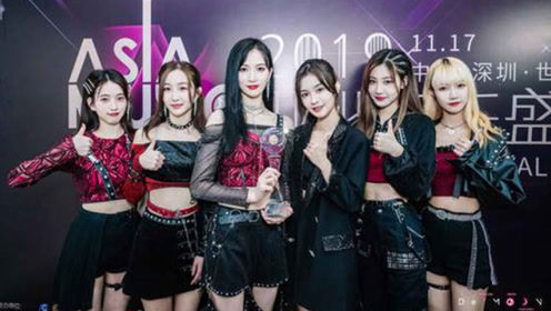 SNH48_DEMOON亚洲音乐盛典获年度荣誉新人女子组合奖