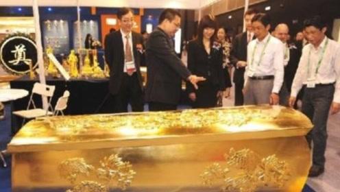 我国太原出土一黄金棺材,不知里面放了什么,让专家们不敢开棺