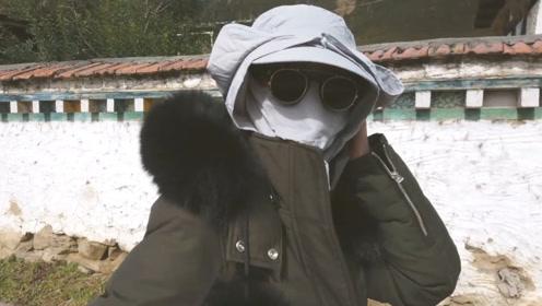女明星防晒程度?张韶涵挑战最强紫外线,面部包裹像是防毒面具
