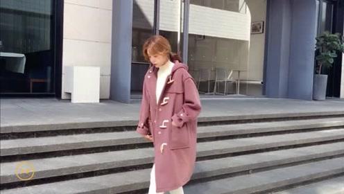秋冬时髦减龄的气质穿搭,简约温柔的棉服搭配,让你看起来很优雅