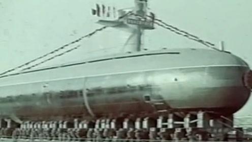 """我国第一艘核潜艇破茧而出,""""中国制造""""蛟龙成功试水"""