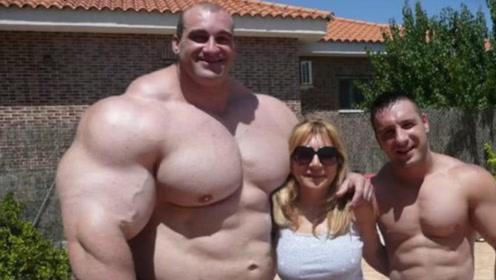 恐怖的西班牙肌肉巨无霸!40岁依然称霸健美界,肌肉的秘密被发现