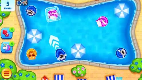 好玩的游戏:安吉拉猫的粉红色眼镜有一根水管?有什么用呢!