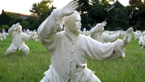 中国传统武术太极拳,以柔克刚!