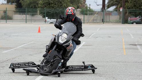 摩托车装个支架,怎么浪都不会摔,轻松解锁更多技能