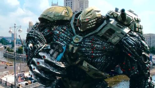 俄式暴力美学科幻片,超巨型机器人破坏城市,霸气外露热血沸腾!