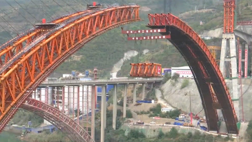 感受中国惊人的造桥技术!为中国速度点赞