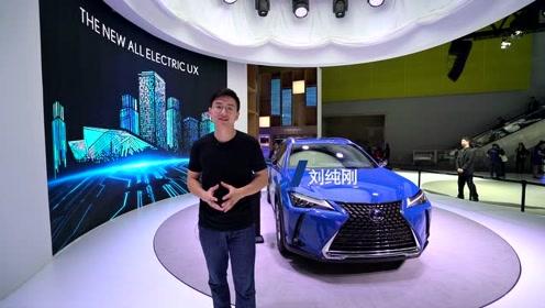 2019广州车展雷克萨斯UX 300e纯电SUV