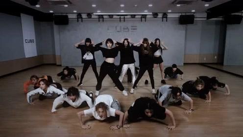 (G)I-DLE 《LION》练习室