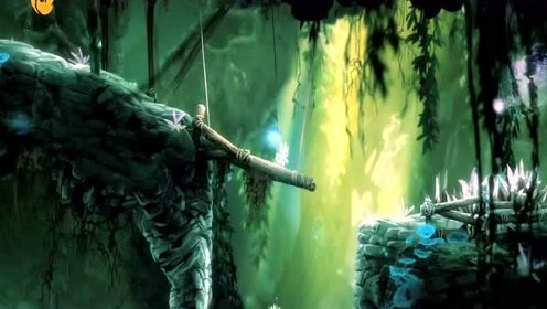 奥日与黑暗森林,这一路充满危险,却也让奥里愈发的强大
