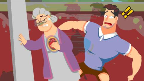 心口疼和猝死有啥关系?动画演绎心绞痛发病机制