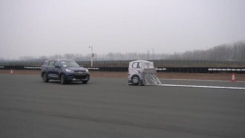 动态车辆AEB测试