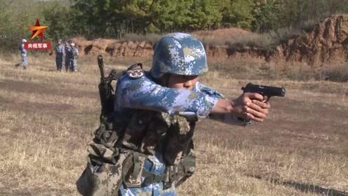 手枪射钉子 独门枪法是如何养成的?