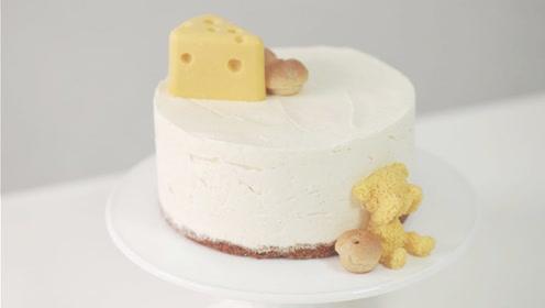 想做蛋糕家里没烤箱,教你不用烤箱做出好吃的奶油蛋糕