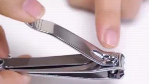 原来指甲刀还能这样用,这也太全能了吧!