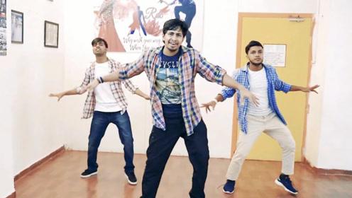 超好学的印度风健身舞,音乐一起,我就想跟着跳!