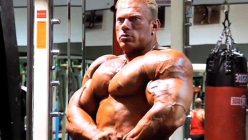 """健美界的""""活化石""""体重268斤,腿围89厘米"""