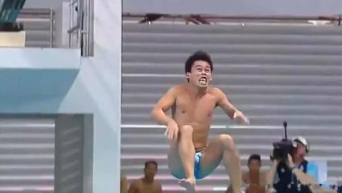 """菲律宾灵魂跳水队!""""努力""""创造首个0分跳水,完美诠释""""背水一战"""""""