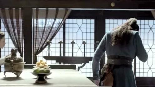 庆余年:范闲回头就看到林婉儿,结果把林婉儿给吓了一跳