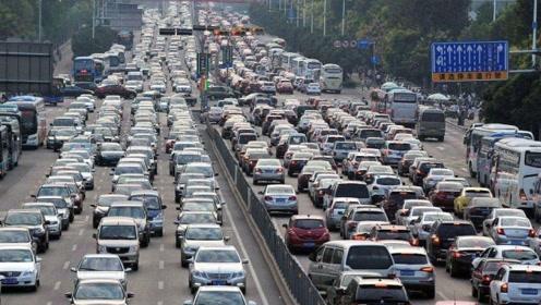 """中国史上""""最惨""""的一次堵车,整整堵了12天,车流排成135公里巨龙"""
