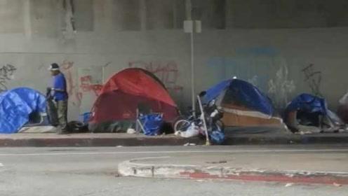 数万无家可归者露宿街头!洛杉矶请最高院裁定睡大街是否合法
