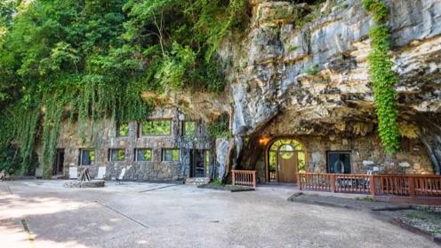 世界最奢华的洞穴,主人花费200万美元打造,外人很难发现!