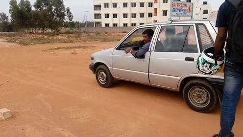 印度人考驾照太简单!看完简直怀疑人生,网友:来中国考啊!