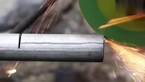 牛人用圆管制作的这个工具,太实用了,发明者真是脑洞大开!
