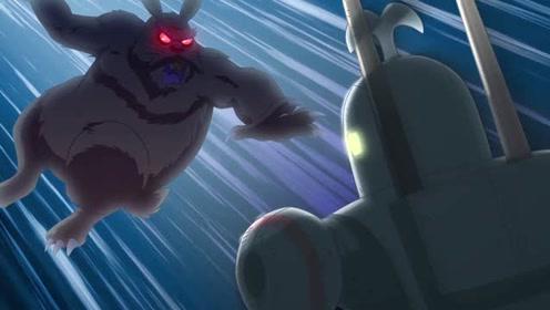 铁金刚大战二齿魔,人类智慧与大自然怪物之间的决斗