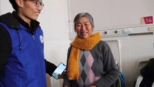 河南一高校大学生连续7年到医院送手织围巾,家属落泪