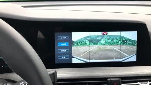 新车抢鲜看:长安CS55 PLUS内饰,双屏幕,显示清晰,灵敏度略低