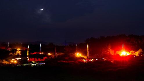 多支劲旅夜闯戈壁,10枚导弹划过夜空 某新型导弹形成全天候作战能力