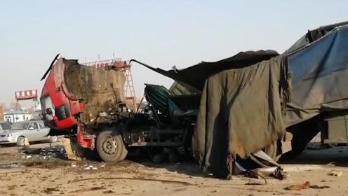 2死1伤!吉林松原工人焊接油罐车时爆炸,目击者:房子都崩塌了